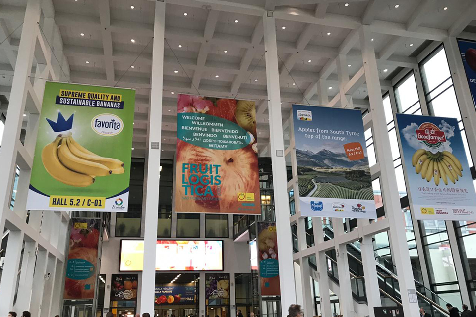Fruit Logistica 2020 Worlds largest fruit expo in Berlin, Germany