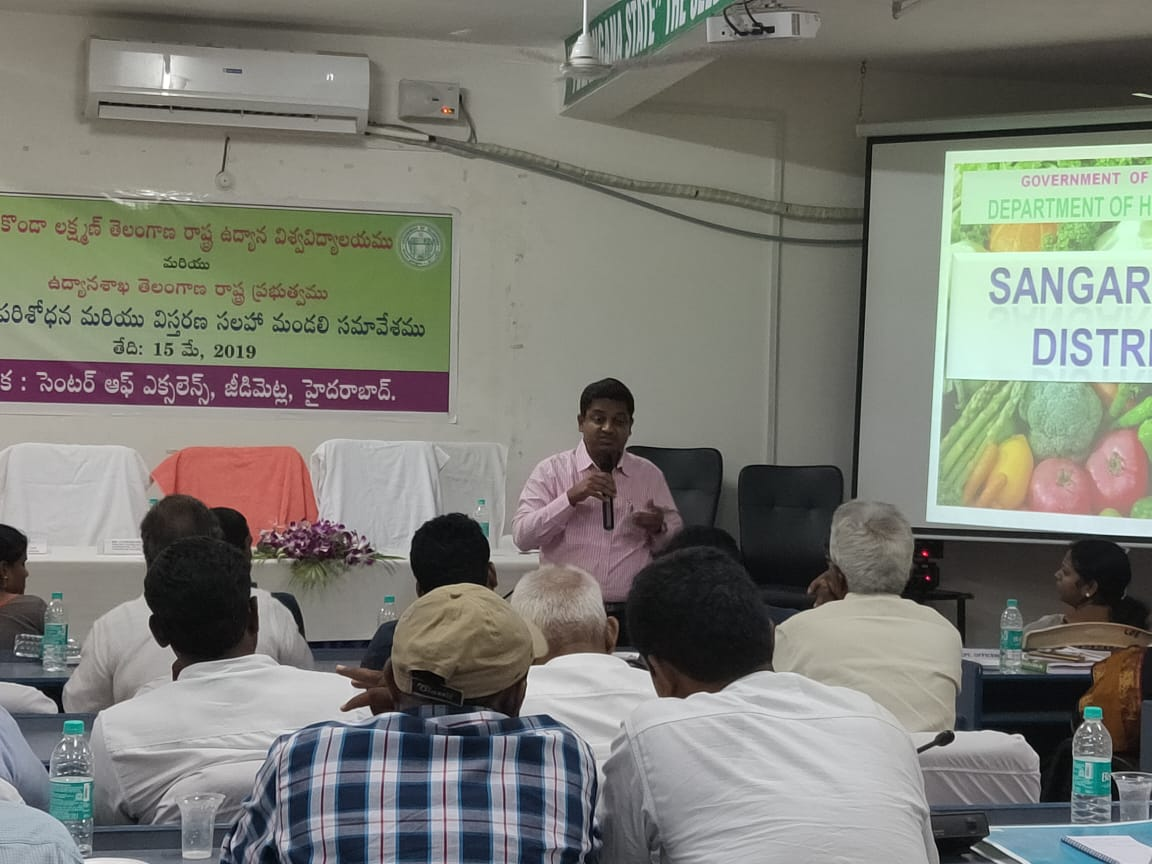 Guest speaker on dragonfruit cultivation in centre of excellence Hyderabad